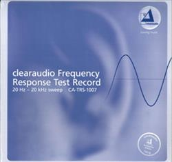 Clearaudio Frequency Response Test Record