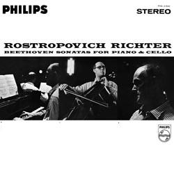 Beethoven Sonatas for Piano and Cello / Rostropovich Richter (2LP) (180gram)