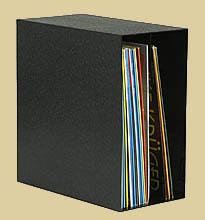 Archifix Box Black for 50 LPs