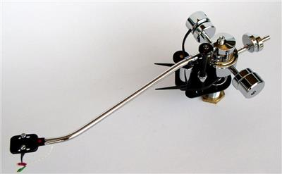 Mørch DP-8 Chrome Tonearm