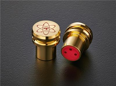 TELOS Gold-Plated Quantum XLR Female Caps (2 pcs)