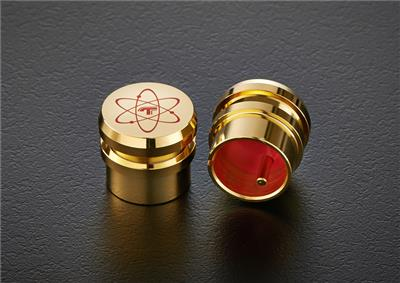 TELOS Gold-Plated Quantum XLR Male Caps (2 pcs)
